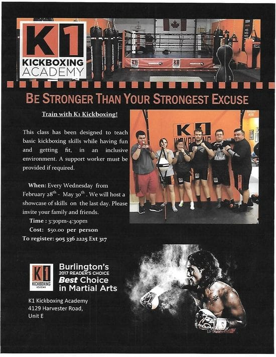 New Program.....Kickboxing